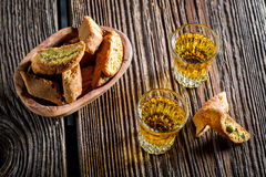 crispy-cantucci-vin-santo-old-wooden-table-55257941