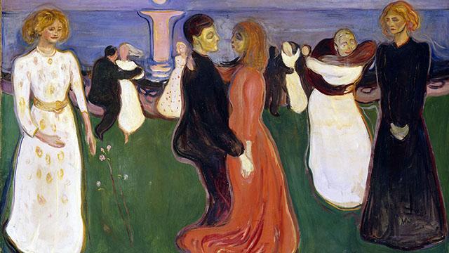 Edvard Munch, The dance of life 1899-1900