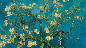 Ramo di mandorlo in fiore, Vincent Van Gogh,1890, Van Gogh Museum, Amsterdam.