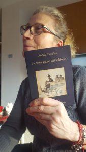 Anna e il suo libro.