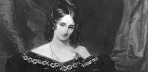 Mary Wollstonecraft Shelley (1797 - 1851), British writer best known for 'Frankenstein', and second wife of poet Percy Bysshe Shelley.    (Photo by Hulton Archive/Getty Images)