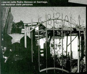 Calle Pedro Donoso, Santiago