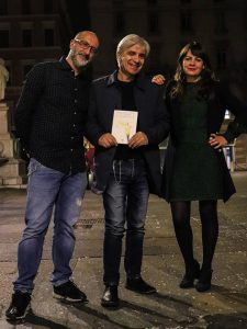 Antonello&Alice con Mimmo Sammartino in uno scatto di Emiliano Zampella