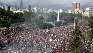 Cile manifestazioni